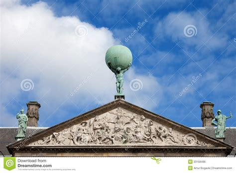 Greek God Statues royal palace in amsterdam architectural details royalty