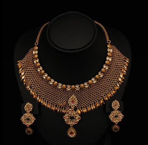 necklace designs kundan jewellery necklace s designs sudhakar gold works