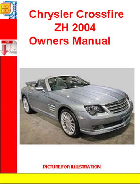 service manual 2007 chrysler crossfire workshop manual download 2005 chrysler crossfire chrysler crossfire zh 2004 owners manual pligg