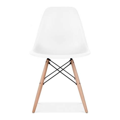 eames chair white eames style white dsw chair cafe side chairs cult