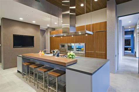 modern kitchen designs with island 64 deluxe custom kitchen island designs beautiful