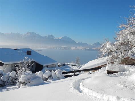 Der Garten Im Winter by Ferienwohnung Sonnenseite Hopfen Am See Familie Martina