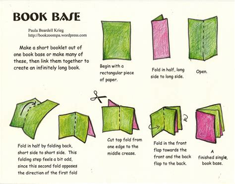 create a picture book blizzard book post 3 pages playful bookbinding and