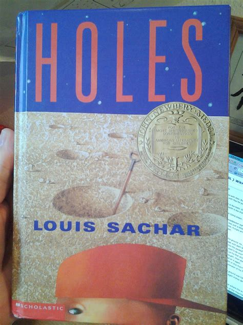 pictures of the book holes holes book quotes quotesgram