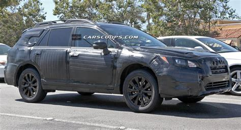 Subaru Legacy Scoop by Scoop All New 2015 Subaru Legacy Spotted In Outback Trim