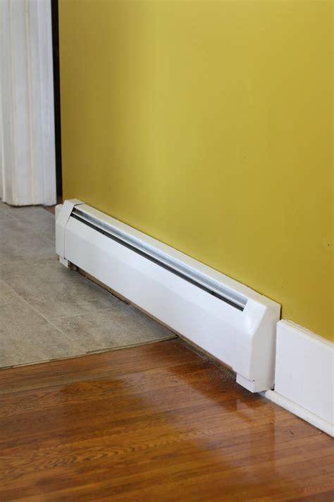 spray painting near furnace diy baseboard heating update merrypad