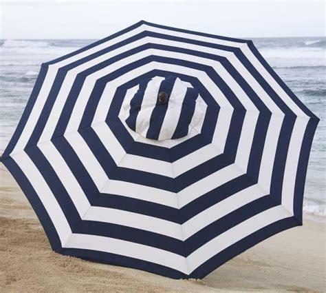 blue and white patio umbrella blue and white stripe market umbrella