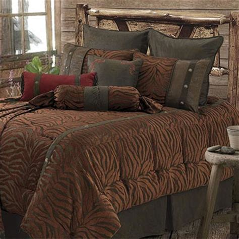 safari comforter sets western safari comforter set