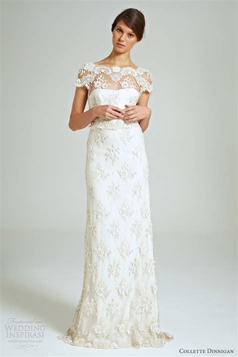 lace beaded wedding dress collette dinnigan magical bridal collection