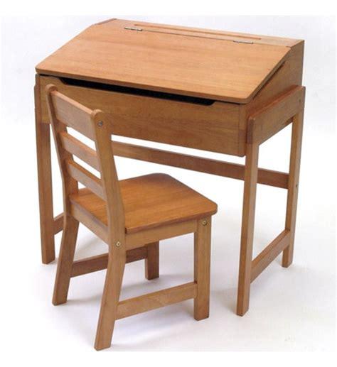 wooden desks for childrens wooden desk with chair pecan