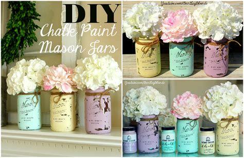 chalk paint jars diy diy chalk paint jar