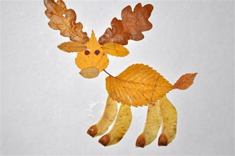 leaf craft projects 15 cool applique ideas from autumn leaves kidsomania