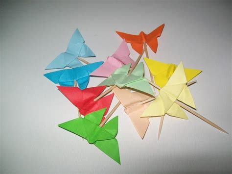 origami cupcake wedding origami butterfly cupcake topper set of 50
