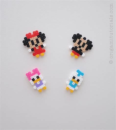 bead projects disney perler mobile origami tutorials