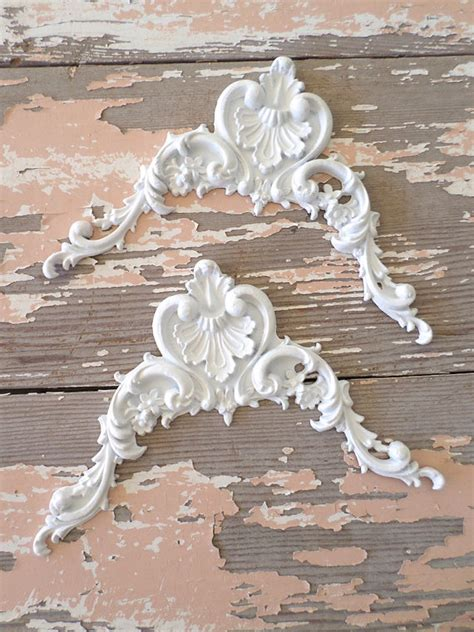 shabby chic wood appliques shabby chic furniture appliques architectural carved corners