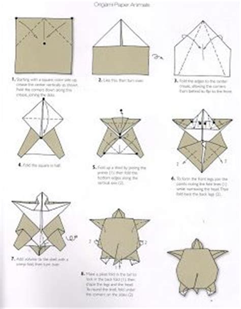 how to make an origami turtle step by step 1000 images about craft origami turtle on