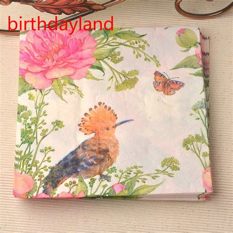 napkin decoupage on wood buy wholesale decoupage napkins from china