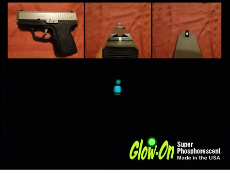 best glow in the paint for gun sights glow on s the original gun sights paint beware of