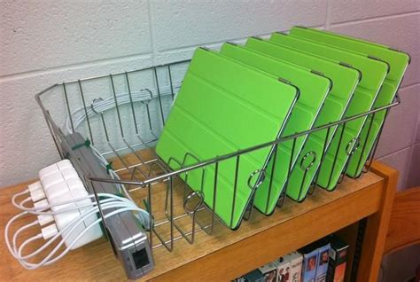 diy chromebook charging station this idea achs it saves money with diy charging