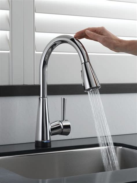 touch kitchen faucet contemporary kitchen faucet afreakatheart