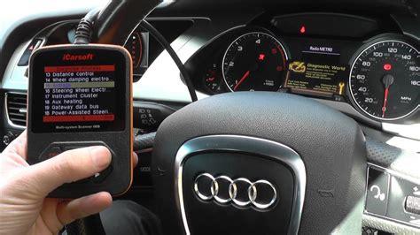Audi Airbag Light by Audi A4 Airbag Light Turn Reset Icarsoft I908