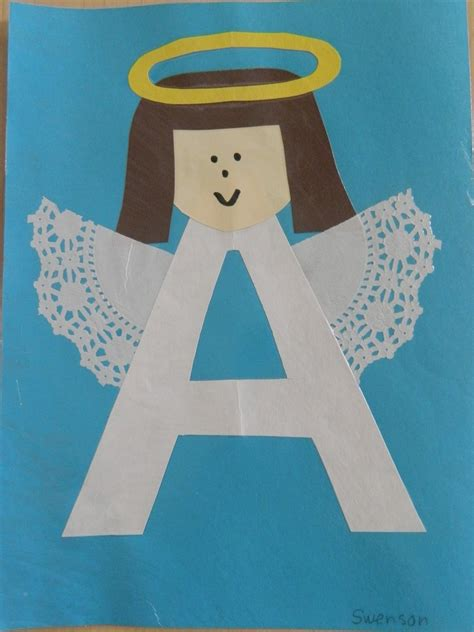 letters for craft projects the vintage umbrella preschool alphabet project a h