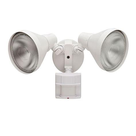 white motion sensor outdoor light defiant 180 degree white motion sensing outdoor security