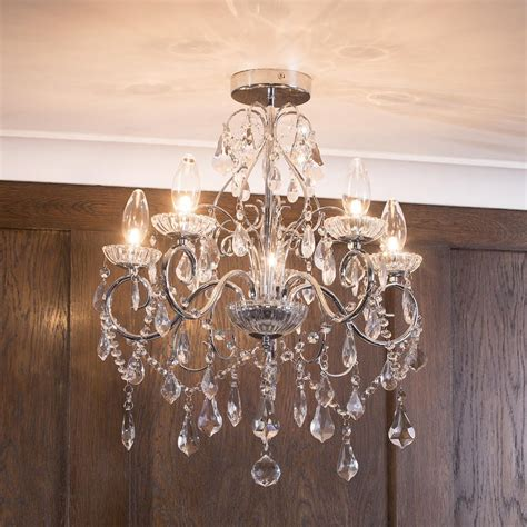 lighting chandelier 5 light modern in chrome decorative bathroom chandelier