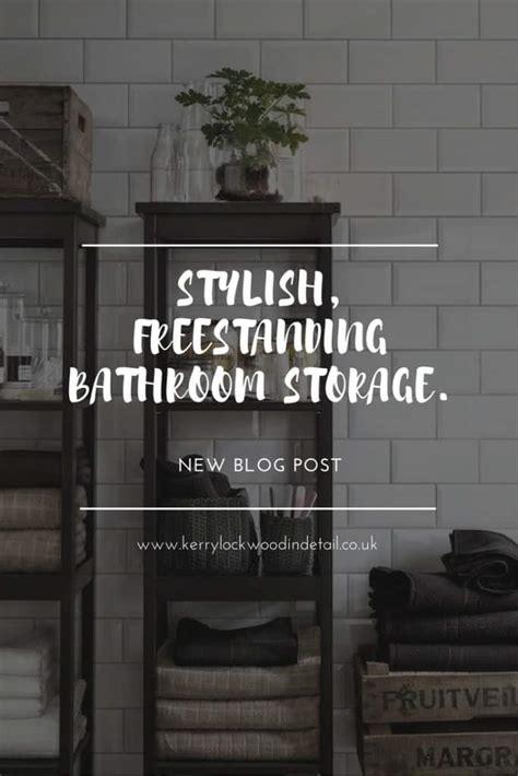 freestanding sink bathroom storage stylish freestanding bathroom storage kerry lockwood