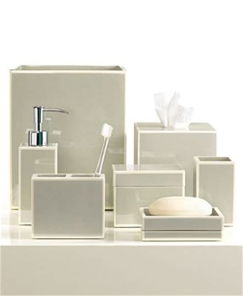 hotel collection bathroom accessories closeout kassatex bath accessories gray soho collection
