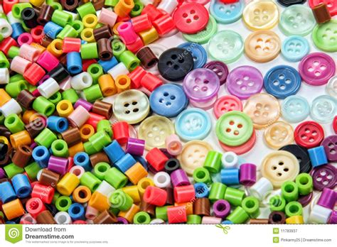 bead and button n buttons royalty free stock photography image