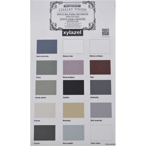 xylazel chalk paint colores rustoleum chalky finish paint 125ml grafito pintura efecto