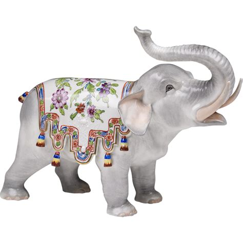 porcelain elephant carl thieme dresden porcelain elephant from piatik on ruby