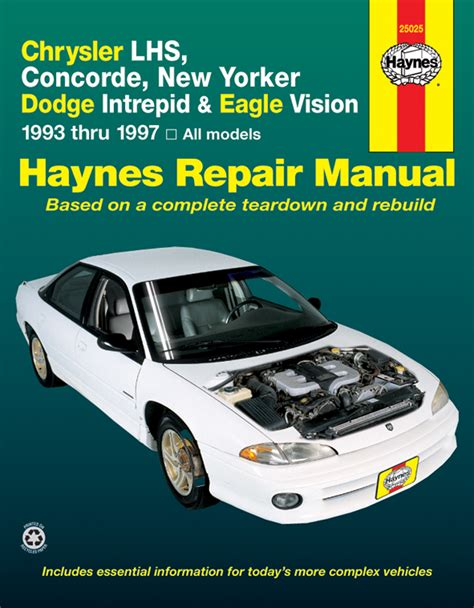 old car manuals online 1994 eagle vision lane departure warning service manual service manual for a 1994 eagle vision
