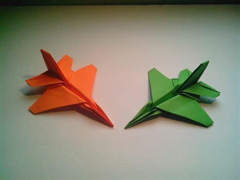 f16 origami como hacer un avi 243 n de papel f 16 jet fighter