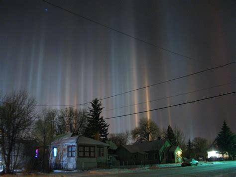 light pillars file light pillars laramie wyoming in winter jpg