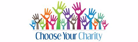 for charity choose your charity