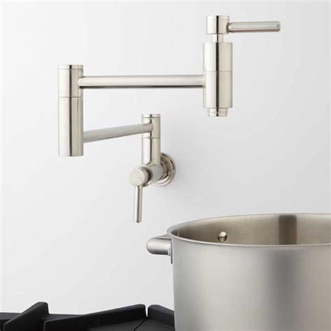 kitchen pot filler faucets pot filler faucet wall mount height
