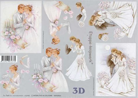 wedding decoupage sheets wedding 2 3d decoupage sheet