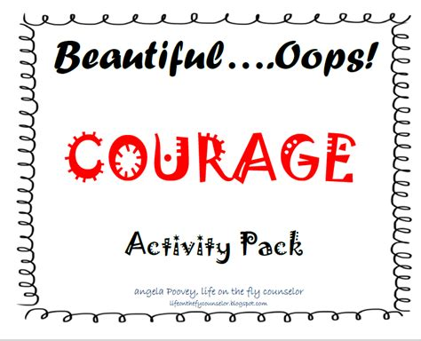 courage crafts for on the fly a school counselor on the