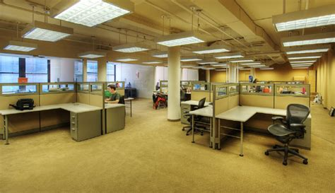 open floor plan office dumann commercial