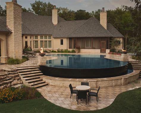backyard infinity pools 21 landscape tiny backyard infinity pool style tips