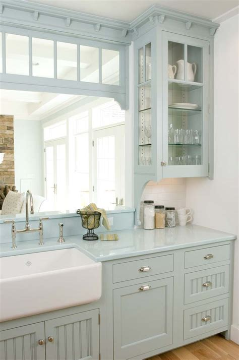 white and blue kitchen cabinets 23 gorgeous blue kitchen cabinet ideas