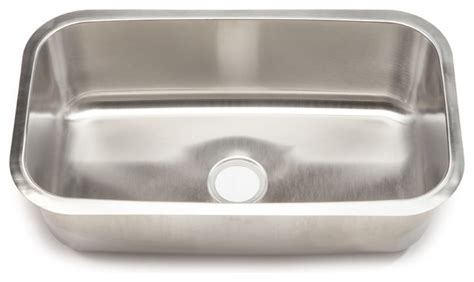 large stainless steel kitchen sinks clark stainless steel large single bowl undermount