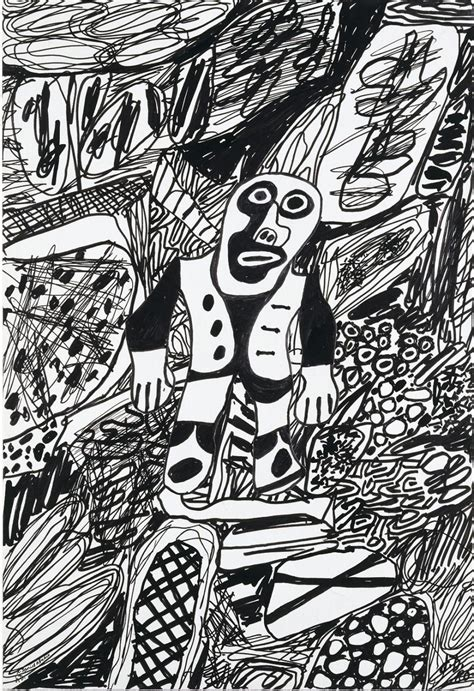 Transcendental Artwork by Jean Dubuffet Paintings And Drawings Galeria Marc Domenech