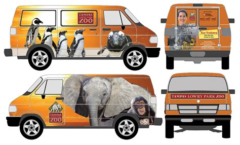 lowry park zoo wrap a great way to advertise