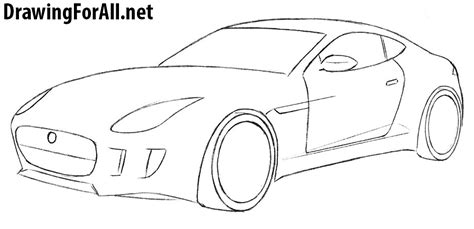 how to draw a car 8 steps with pictures wikihow how to draw a jaguar car drawingforall net