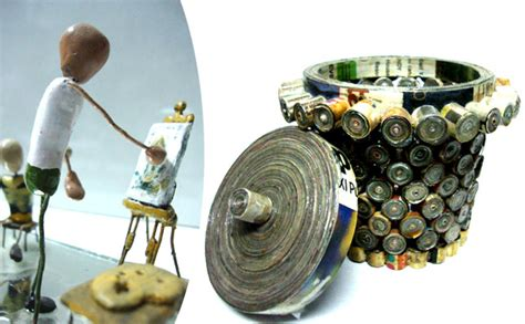 craft work for with waste materials of waste material craft work with waste