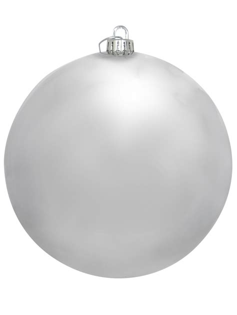 large white baubles large shiny silver bauble decoration 20cm large decor