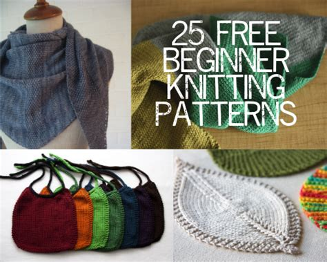 for beginners knitting knitting ideas for beginners easy crochet and knit
